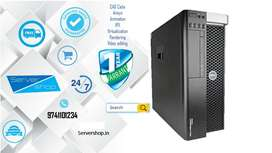 server, computer, Workstation DELL T5600 /HP z620 with 1 year warranty
