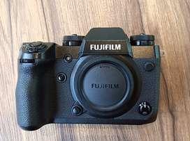 Fujifilm X-H1 Full set, Resmi FFID, Bisa TT, Bandung