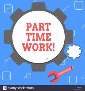 Part time working opportunities for Males and Females