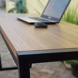 Meja makan,  Meja Komputer, meja tamu, meja kantor, meja kerja