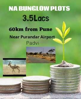 NA plots easy EMI near Purandar Airport