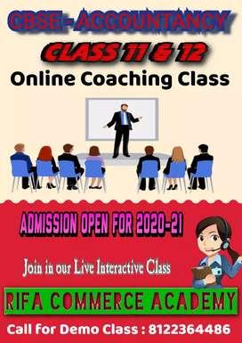 Online Class for CBSE Accounts
