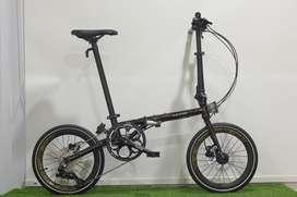 Sepeda Lipat Element Troy x10 Bonus Koper Sepeda