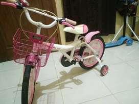 Sepeda Anak Cewek ukuran 16