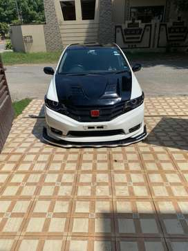 Honda city carbon fiber hood