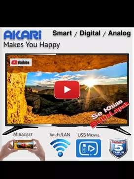 Harga Super Promo Akari LE-32V99SM Smart Digital TV LED 32 inch