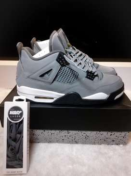Nike Air Jordan 4 Cool Grey 2019 Abu-abu like new murah