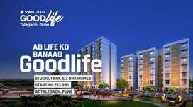 Studio apartment At 13.98 Lakh, In MIDC RD Katvi Talegaon-At Goodlife