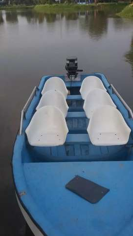 Boat with 25 HP engine