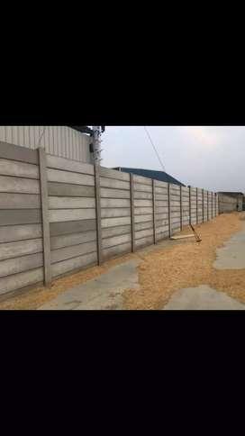 Precast boundry wall