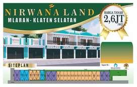 Tanah Murah Klaten Area, Bisa Untuk Bangun Ruko Atau Rumah