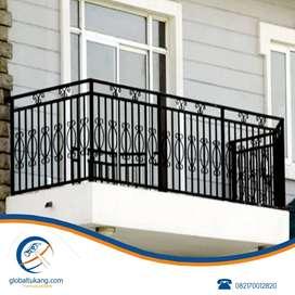 Jasa pembuatan pagar besi,folding gate,teralis pintu,jendela,tangga