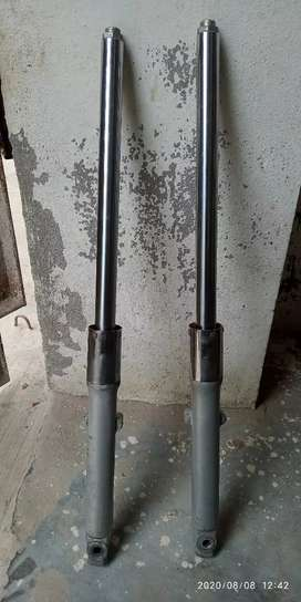 Metro Motorcycle shocks clean condition
