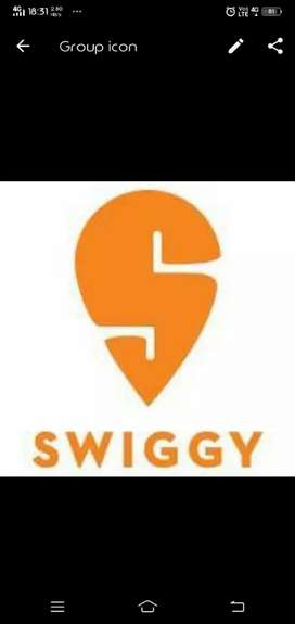 Swiggy food delivery executive for jabalpur
