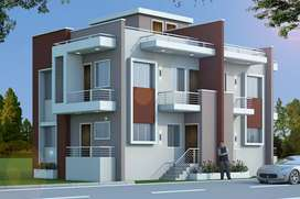 3bhk row house are available in padhanpur near railway station solapur