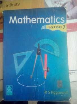 RS Aggarwal Mathematics Class 7
