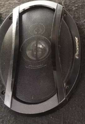 Car speakers (pioneer company) exchange with anything