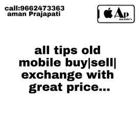 Apple Samsung oppo vivo realme mi oneplus alltips old mobile available