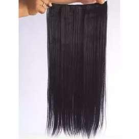 Hair clip lurus -hitam