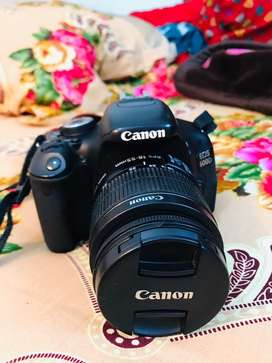Urgent sell canon 600d with 18-55 lens