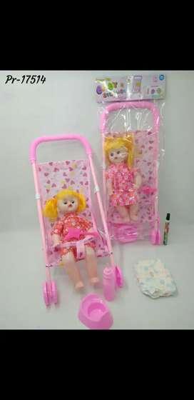 Mainan boneka troly