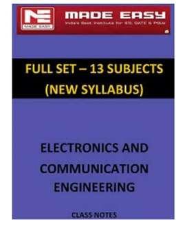 Gate Electronics and communication hyderabad notes