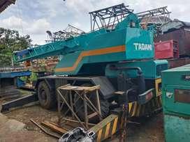 Tadano truck and trailer