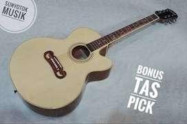 Gitar Akustik Jumbo Model Epiphone