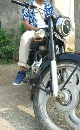 Bullet just in 90000 purana tyaar hoya puthe gears vala