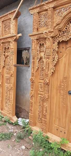 ridho cuci gudang pintu gebyok gapuro jendela rumah masjid musholla