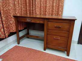 Computer Laptop Office or Home Study Table Wooden Workstation Desk