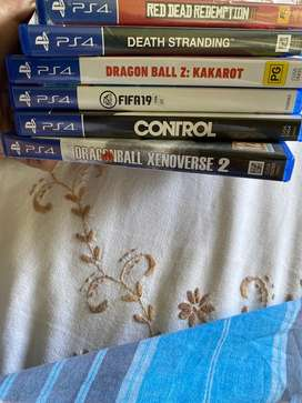 PS4 Games for Sale (Good Condition)