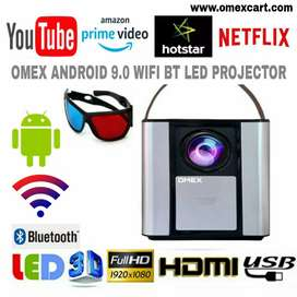 NEW 4000 LUMENS X2 YOUTUBE WIFI ANDROID VIDEO PROJECTOR HDMI USB 2GB