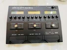Zoom Multieffect Electric Guitar Processor