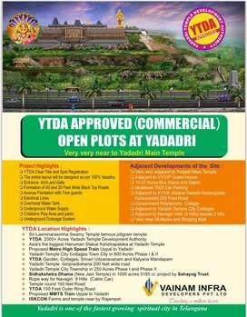 Premium Open Plots At Yadadri
