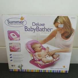 Tempat mandi Bayi Summer Deluxe Baby Bather Baru Gree Ex. Kado