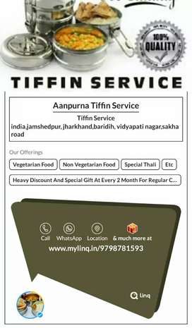 Contact me for Tiffin services