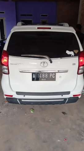 Toyota Avanza g manual 2013