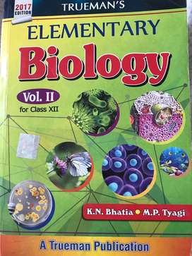 Trueman's Elementary Biology - Vol. 2 2017 Edition