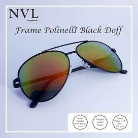 Kacamata Polinelli Lensa Polarized / Anti UV 400 Pria / Wanita