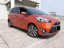 Toyota Sienta 1.5 V AT 2017 Antik Km.15rb Plat Genap Pajak Panjang