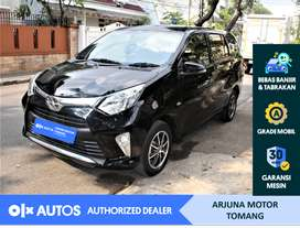 [OLX Autos] Toyota Calya 2018 1.2 G A/T Bensin Hitam #Arjuna Tomang