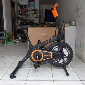Biru hitam sepeda statis 2 Fungsi/bisa bayar ditempat