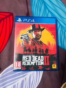 RED REDEMPTION 2.    PS 4