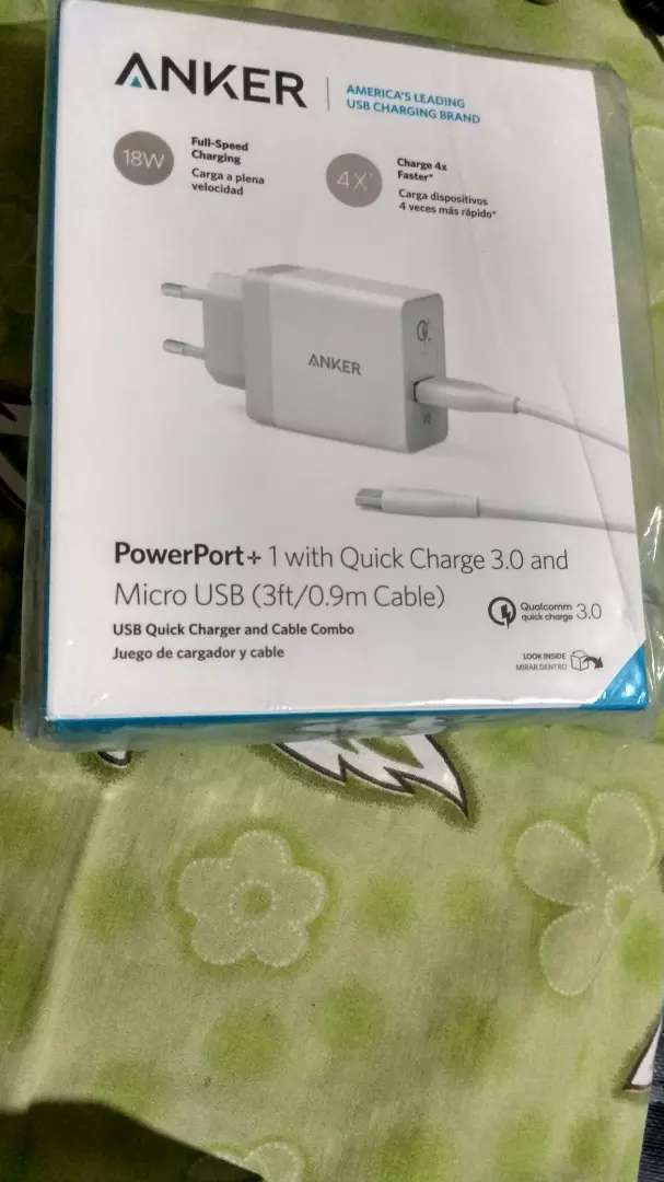 charger Anker powerport+ 1 QC 3.0 0