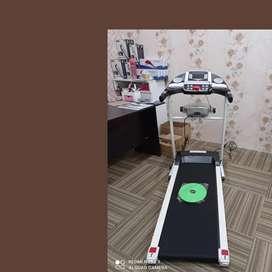 treadmill elektrik 3 fungsi XR-763 alat fitnes treadmill