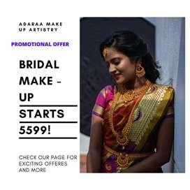 Adaraa's Bridal Make-Up Artistry