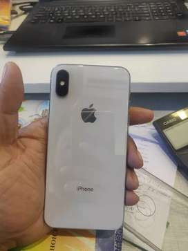 i phone x brand new 256gb white silver with box and all accessories