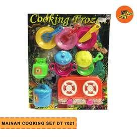 MAINAN COOKING SET DDT 7021- Mainan Masak-Masak Anak