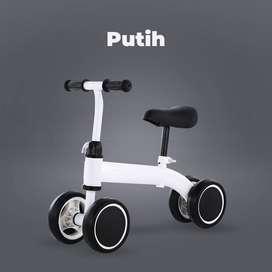 Sepeda Latihan Berlari & Keseimbangan Anak / Balance Bike - Hitam ID93